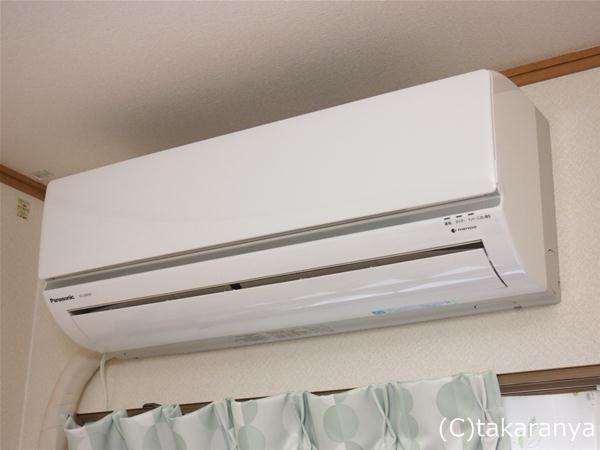 こども部屋にもエアコンを買いました