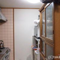 狭いけれど使いやすいキッチン