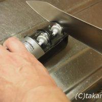 グローバル包丁研ぎ器