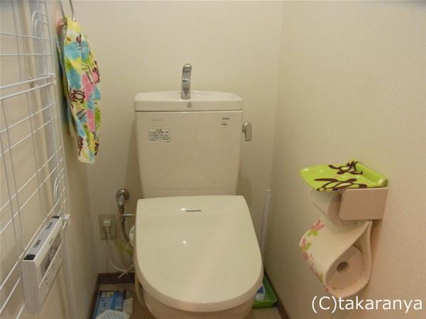 ハワイアンテイストなトイレ